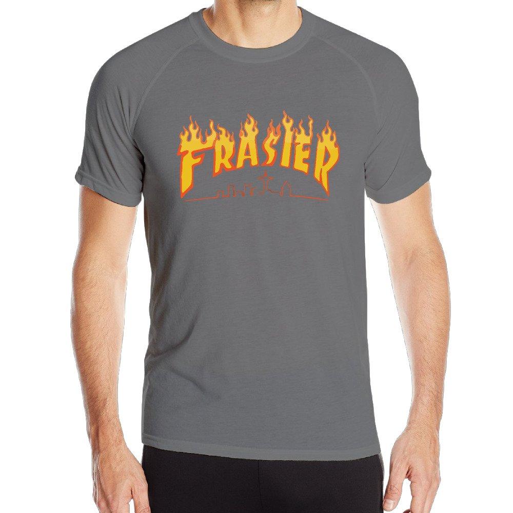 af64ebc45acf Men s Thrasher Magazine Frasier Fire Logo Tee DeepHeather XXL Apparel