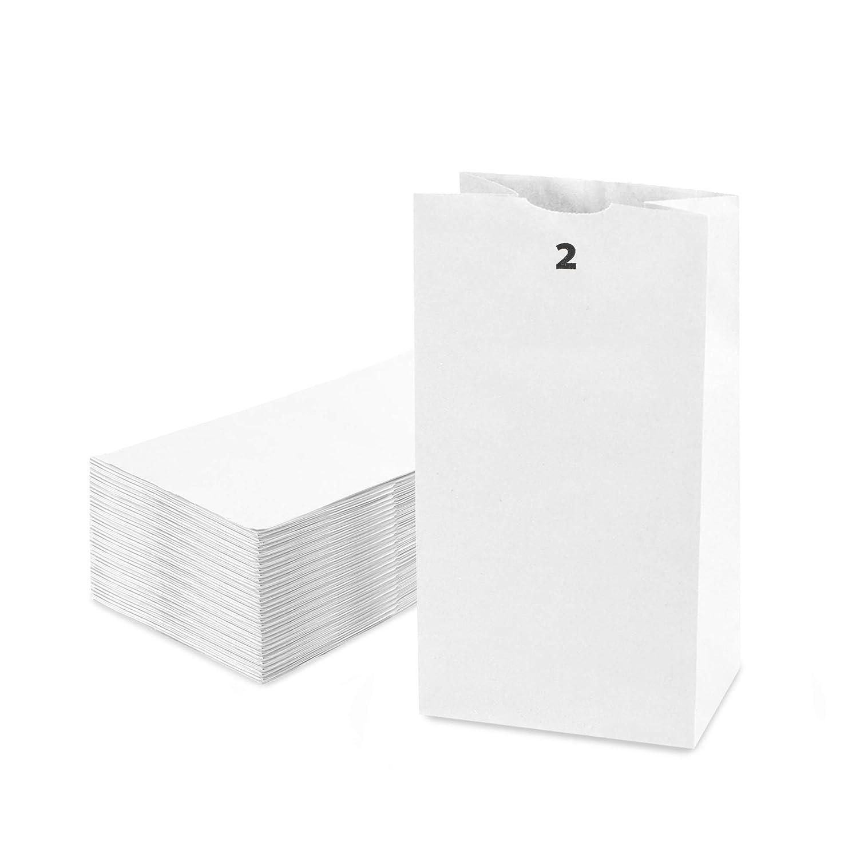 [200 Pack] 2 LB 7.88 x 4.13 x 2.5