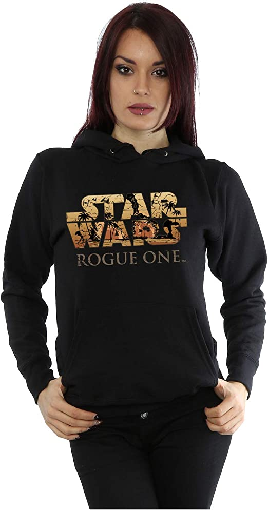 Star Wars Felpa con cappuccio per donna Star Wars
