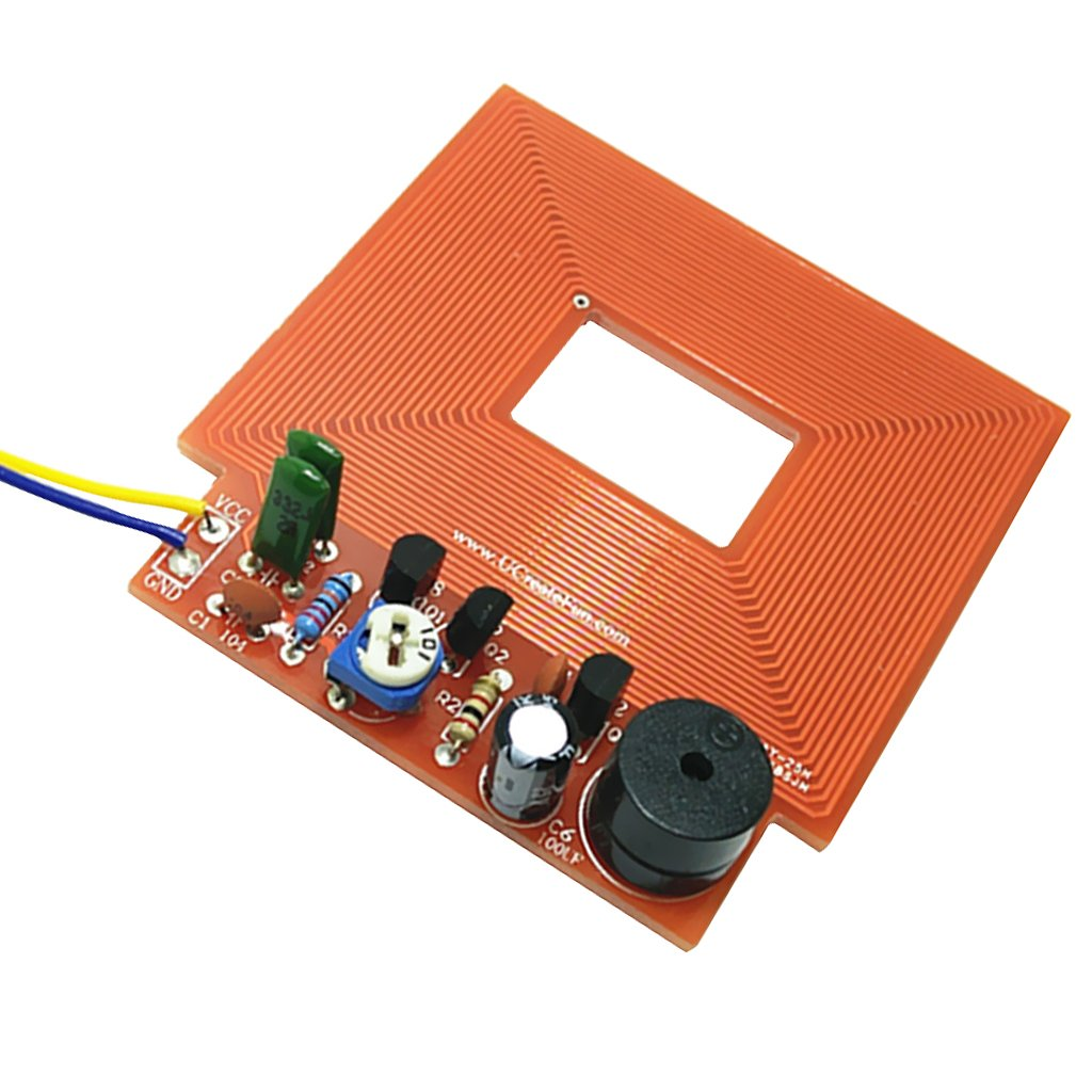 Pcb Boardmetal Detector Circuit Buy Metal Dovewill Kit Electronic Diy 3 5v Board Scanner Module Security Inspect