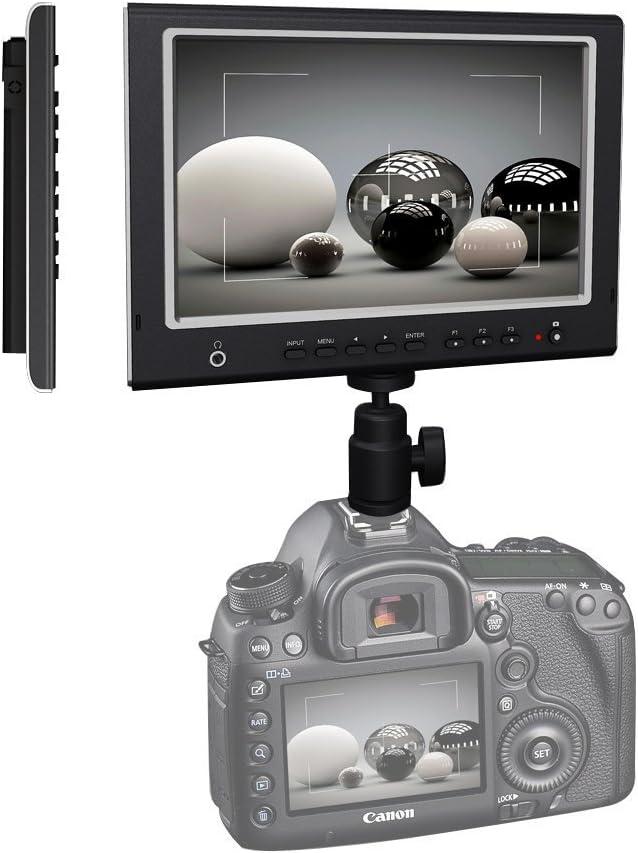 LILLIPUT 7 664/O LED Monitor HDMI 1280x800 IPS Field F970+LP-E6 ...