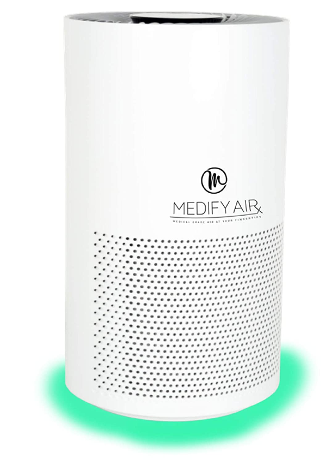 Medify MA-Smart Mobile App, Alexa Enabled Medical Grade H13 True HEPA Filtration Air Purifier for 500 sq ft 99.97 Particle Sensor with light indicator 3-in-1 Filter