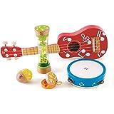 Hape Mini Band Set Five Music Instruments for Kids