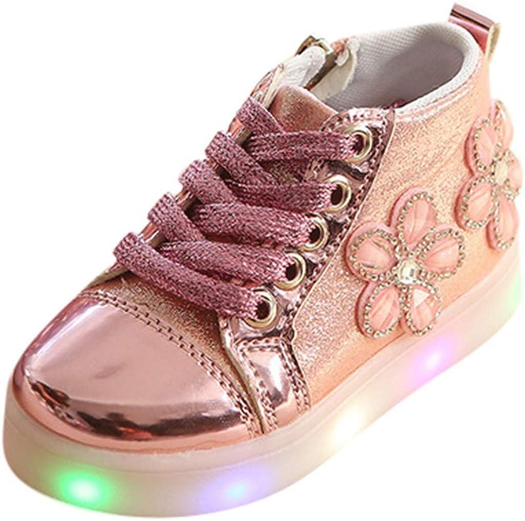 Toddler Baby Girls LED Light Luminous