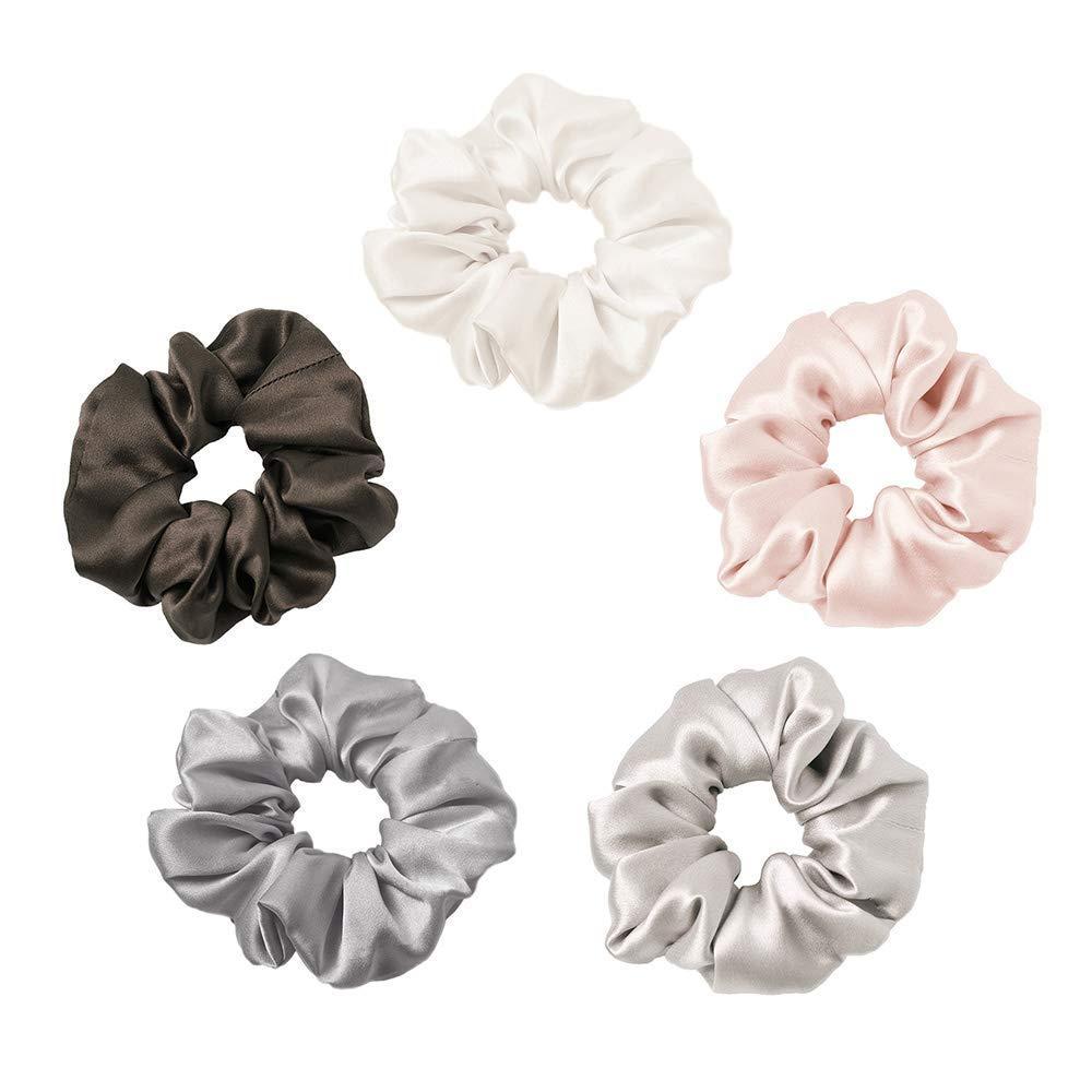 Silk scrunchin scrunchies