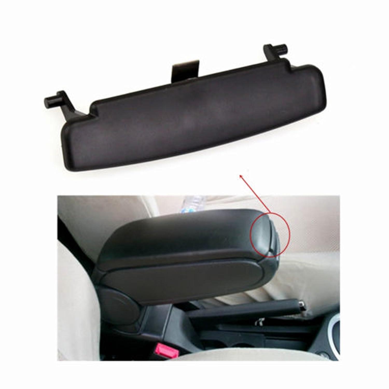 Espear 1 Piece Black 2005-2011 Audi A6 C6 Center Console Armrest Storage Box Latch Lid Clip Repair 4F 0864 245