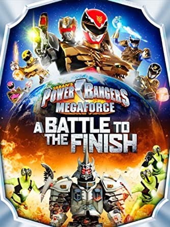 Amazon.com: Power Rangers Megaforce: A Battle To The Finish ...
