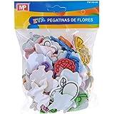 MP PM188-06 - Pegatinas adhesivas de goma Eva con formas