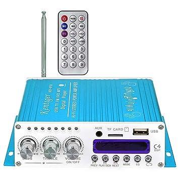 Kentiger V10 Hi-Fi Clase AB jugador estéreo bajo estupendo del amplificador digital Bluetooth de