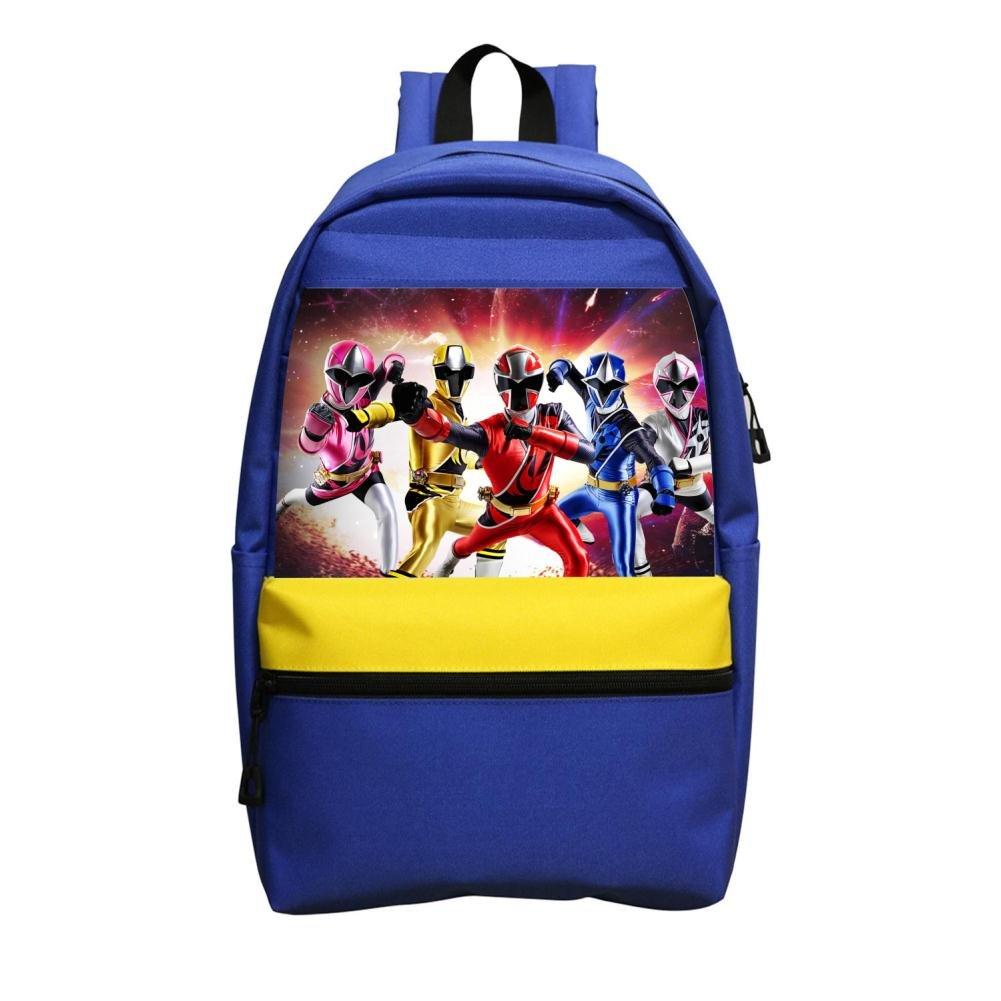 4つRangers StudentバックパックスクールバッグファッションガールズスーパーブックバッグBreak   B07DQCRGP5
