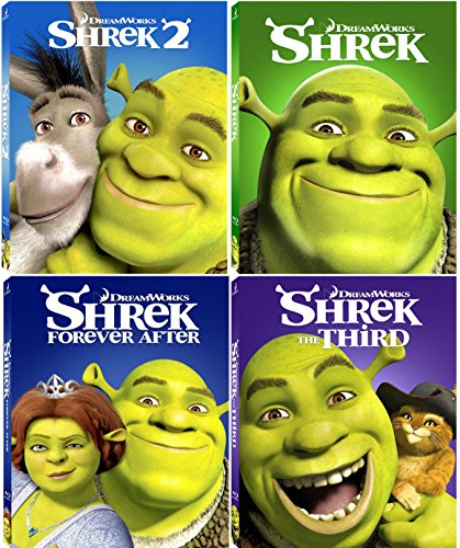 shrek 1234 the whole story 4 movie collection blu ray