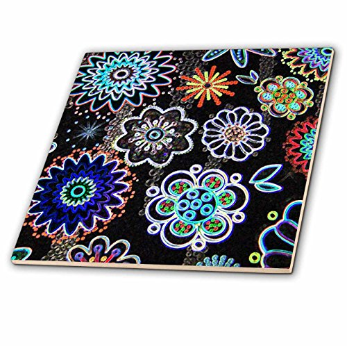 (3dRose Whole New World - Ceramic Tile, 12-Inch (ct_24029_4))