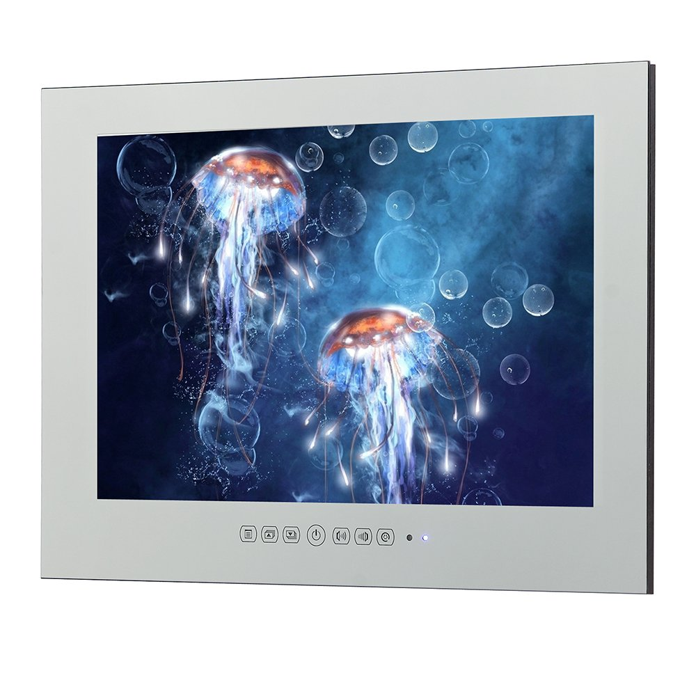 Soulaca 21.5inch Mirror Bathroom Salon LED Waterproof TV M215FN