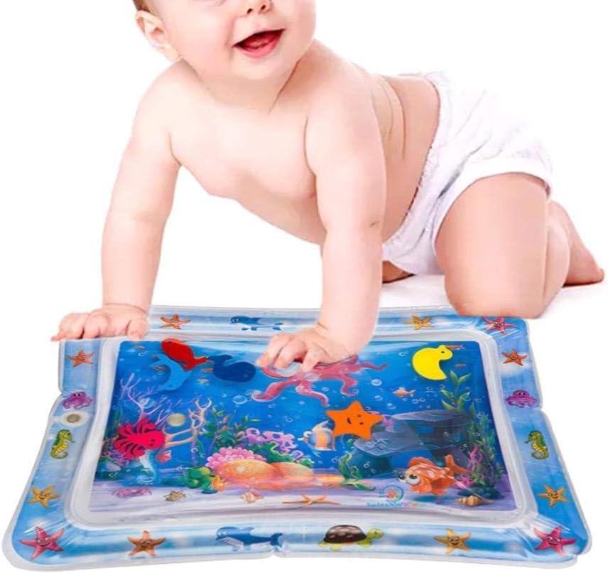 66 x 50 cm, alfombrilla de juegos hinchable para bebés, antigoteo, sin BPA, juguete interactivo para bebés y niños pequeños