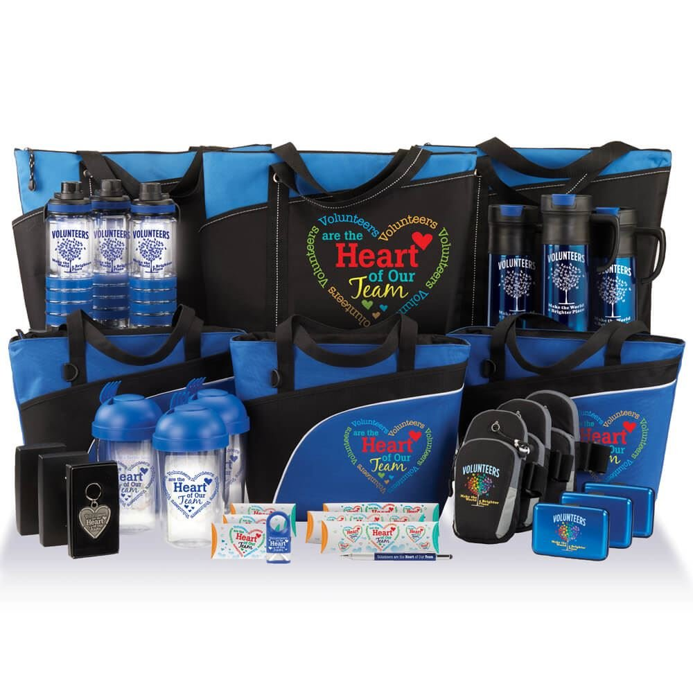 Volunteer Appreciation 50-Gift Raffle Pack by Positive Promotions, Inc.