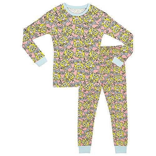 quality design 18200 99501 spongebob kids cotton pajamas sleep