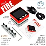 M5Stack NEW PSRAM 2.0! FIRE IoT Kit Dual Core ESP32 16M-FLash+4M-PSRAM Development Board MIC/BLE MPU6050+MAG3110 of Micropython (FIRE)