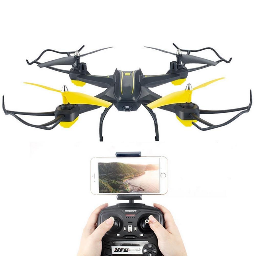 OOFAY Drohne mit Kamera S6 Smart Set Hohe Flugzeug Crash-Resistant WiFi Echtzeit-Übertragung Luft-Drohne Fernbedienung Hubschrauber