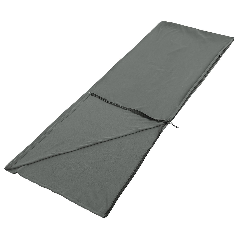 ばねマイクロファイバーフリースSleepingバッグ/ Blanket Liner 7429