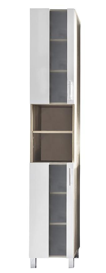 Trendteam Smart Living Badezimmer Hochschrank Schrank Porto 33 X