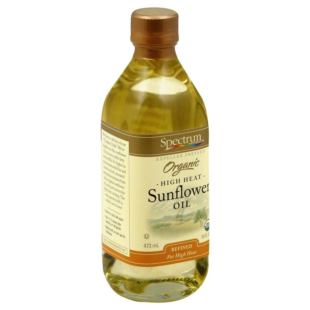 Spectrum Naturals Oil Sunflower Refined Semi