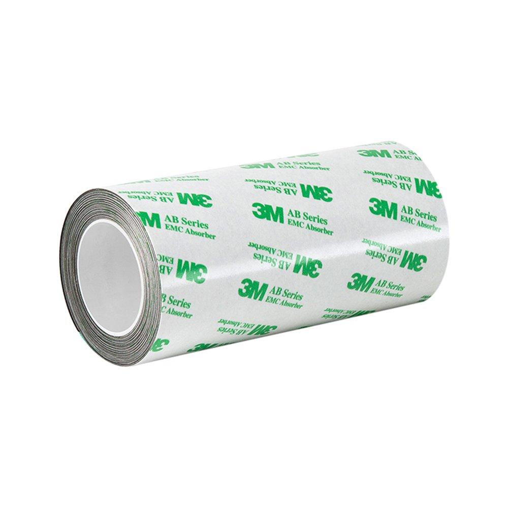 TapeCase AB5010 4.13-4-3M Acryl-Kleber EMI-Absorber, 4,13 x 1,2 m, Schwarz