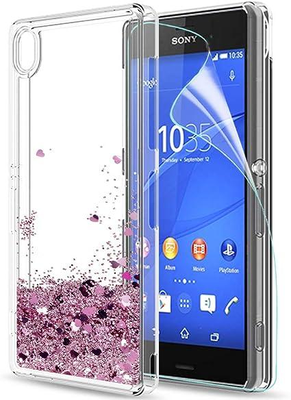 LeYi Compatible with Funda Sony Xperia Z3 con HD Protectores de ...