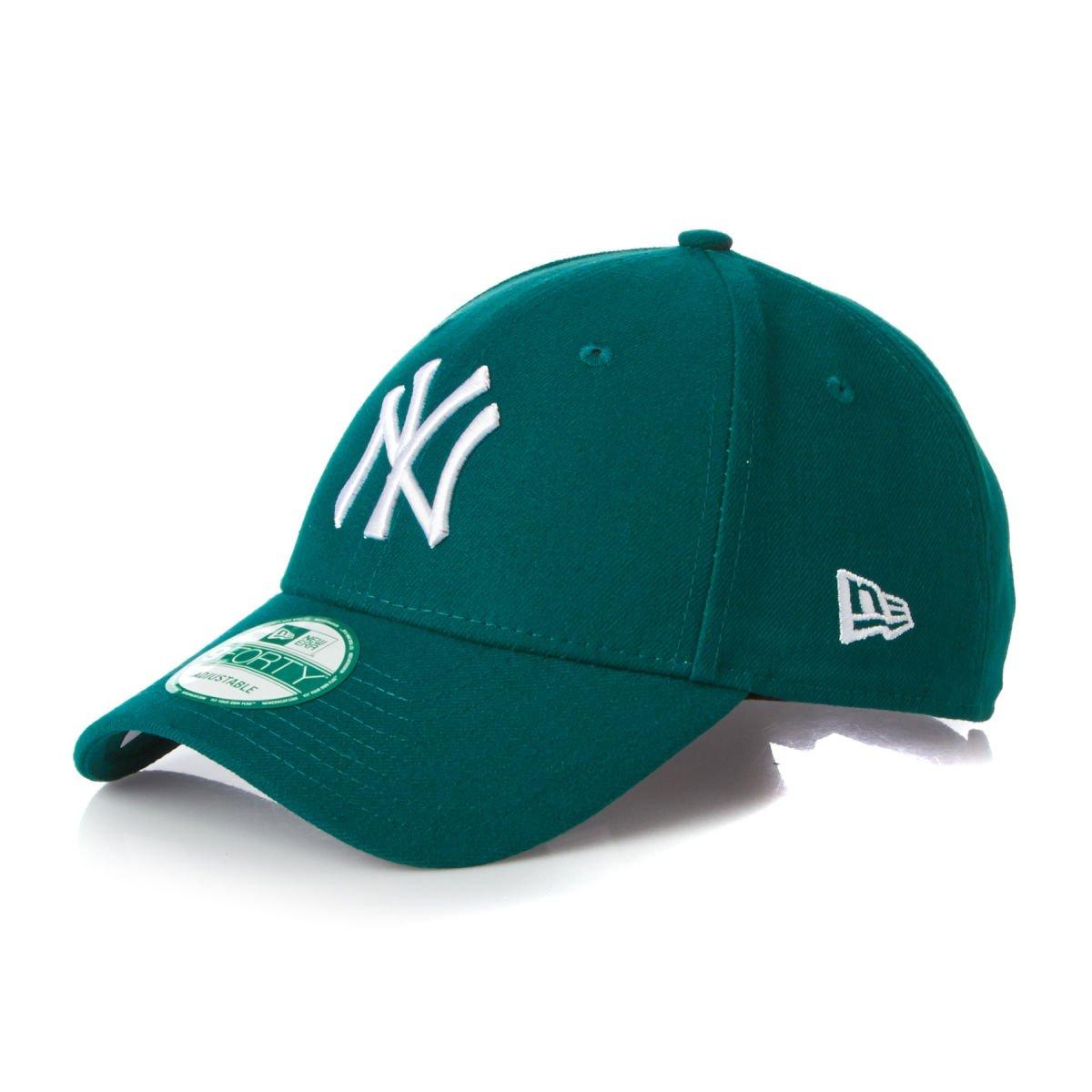 New Era 940 League Basic Adjustable Baseball Cap (NY Yankees - MNG WHI)   Amazon.co.uk  Clothing aefa2b32c616