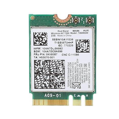 Intel Tarjeta de Red inalámbrica de Banda Dual de CA ...