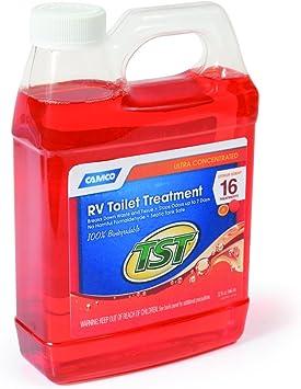 Amazon Com Camco Tst Orange Power Toilet Treatment 32 Oz Automotive