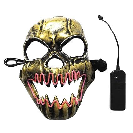 Jasnyfall Máscara De Halloween Máscaras De Halloween Adultos Máscaras Máscara De Miedo Máscara Media Máscara Máscara