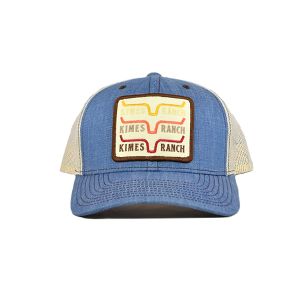 Kimes Ranch Men's Blue 1978 Trucker Cap Light Blue One Size