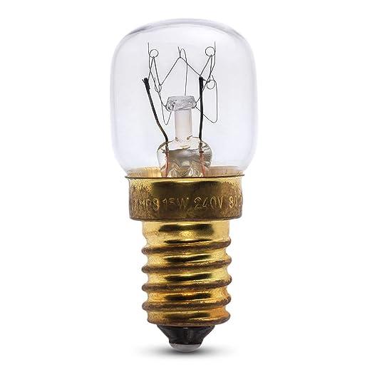 Para horno/microondas bombilla/lámpara: 25 W E14 300c: Amazon.es ...