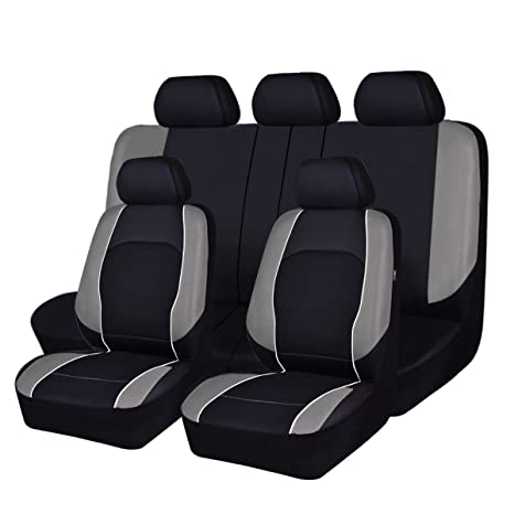 Stupendous New Arrival Horse Kongdom Universal Fit Car Seat Covers Faux Leather With Breathable Air Mesh Aibag Compatible Fit For Suvs Trucks Sedans Vans Cars Pdpeps Interior Chair Design Pdpepsorg