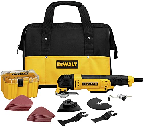 Dewalt Multi-Master 3 Amp Oscillating Tool Kit Renewed