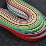 IMISNO Paper Quilling Strips Set 1040 Strips 26