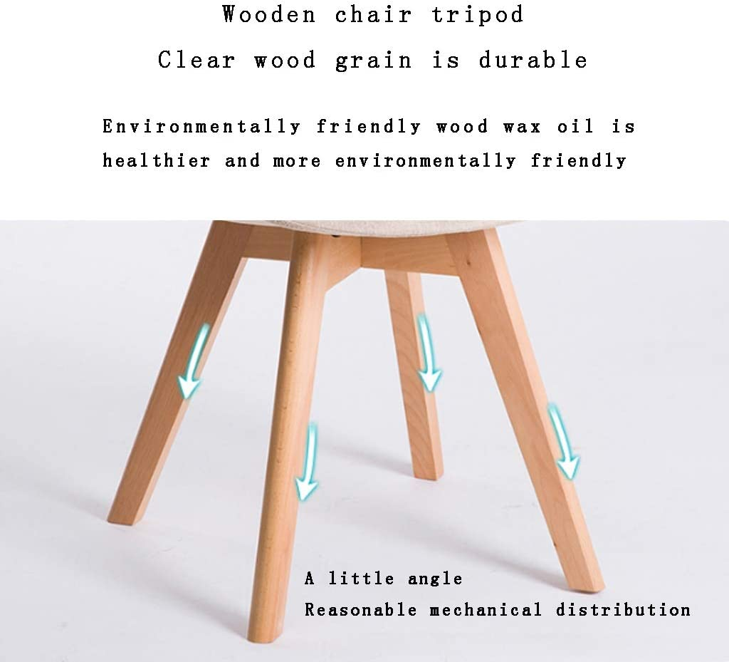 Keuken Eetstoelen, Cafe Student Writing Chair Flower Shop Milk Tea Shop Planken Household Bureaustoel (Color : Gray) Dark blue