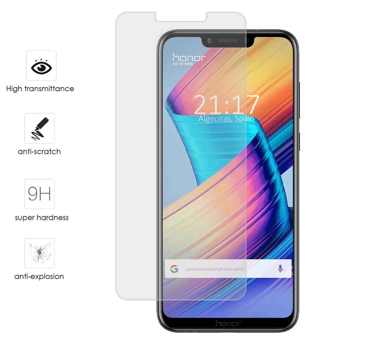 Tumundosmartphone Protector Cristal Templado para Huawei Honor ...