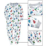 Baby 2-Pack & 2-Way Zip Front Long Sleeve Footed