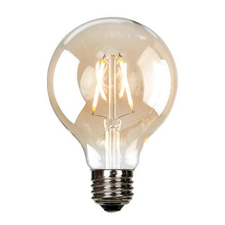 Luminance L7582-2 LED G25 Nostalgia Filament//Bathroom/&Vanity Light Bulb