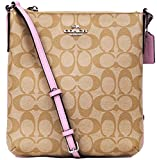 Coach Signature N/S Crossbody - Light Khaki/Petal