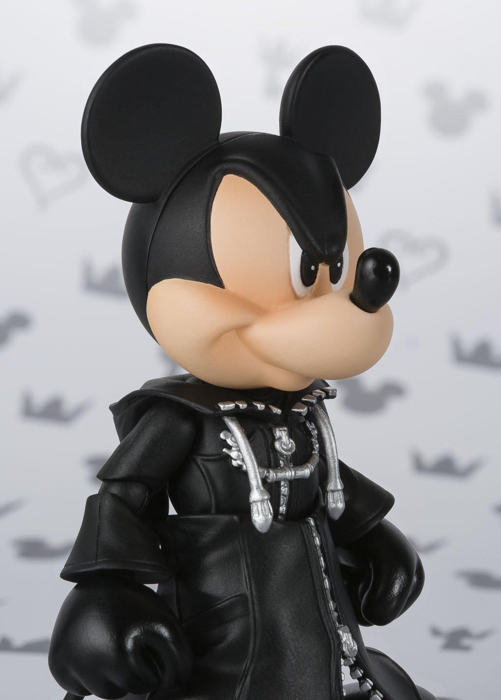 Action Figure Exclusive Tamashii Nations Bandai S.H.Figuarts King Mickey Kingdom Hearts II