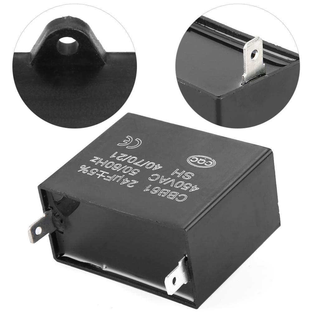 CBB61 Starting Capacitor Generator 450V AC 24uF 50//60Hz for 400//350//300//250VAC UL//RU Listed