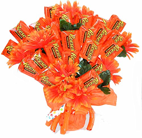 (Reese's Extravaganza Candy Bouquet)