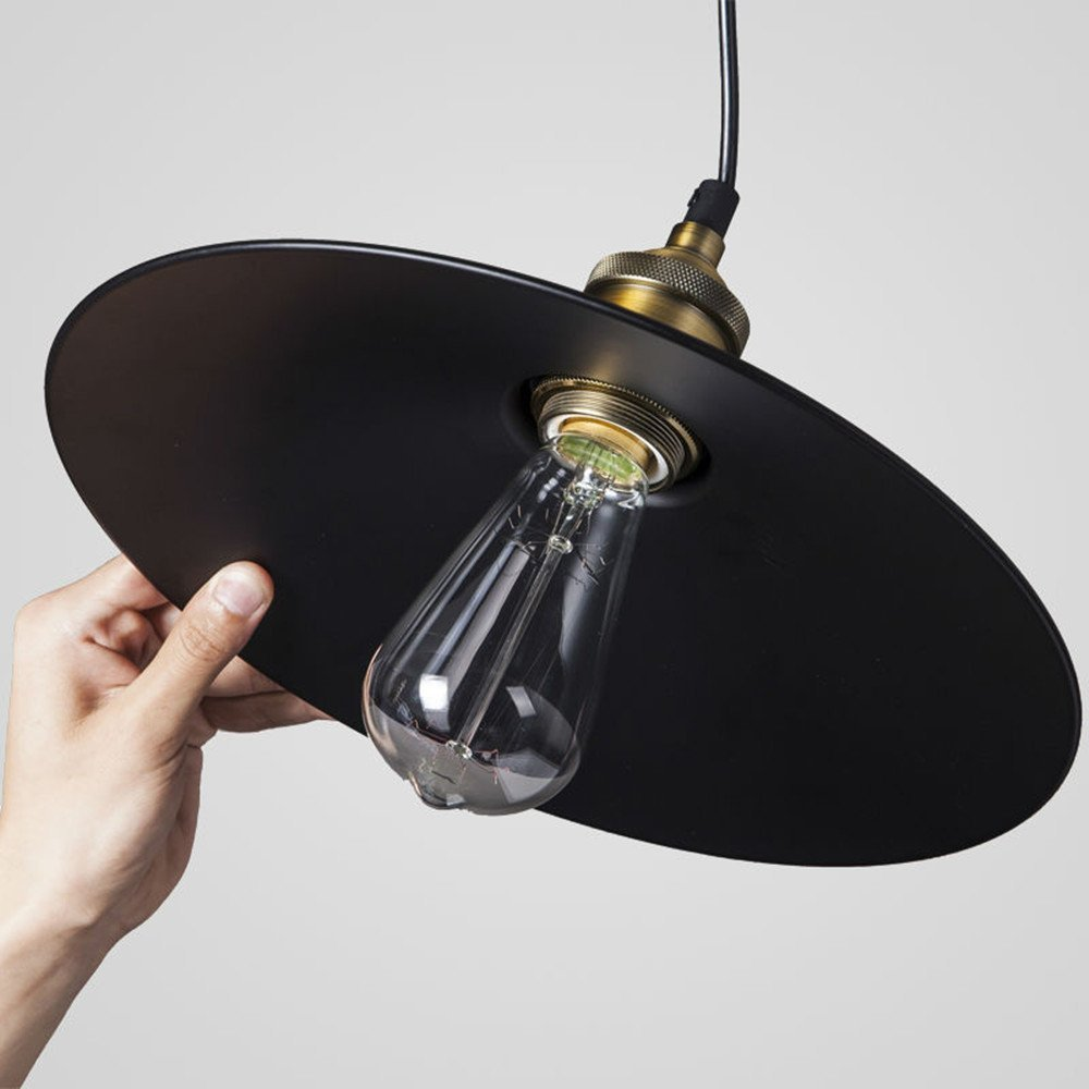 warehouse style lighting. vintage retro edison loft pendant light, makion industrial ceiling lamp incandescent bulb painted iron umbrella shade country style for warehouse lighting h