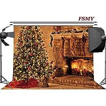 FSMY 7x5ft Christmas Photography Backdrops Vinyl Photography Background Photo Backdrops for Photo Studio Props