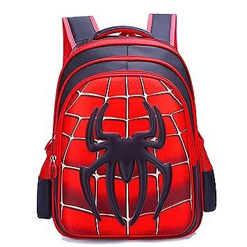 Sac à Dos Pour Enfants Spiderman 3D Stéréo École Primaire