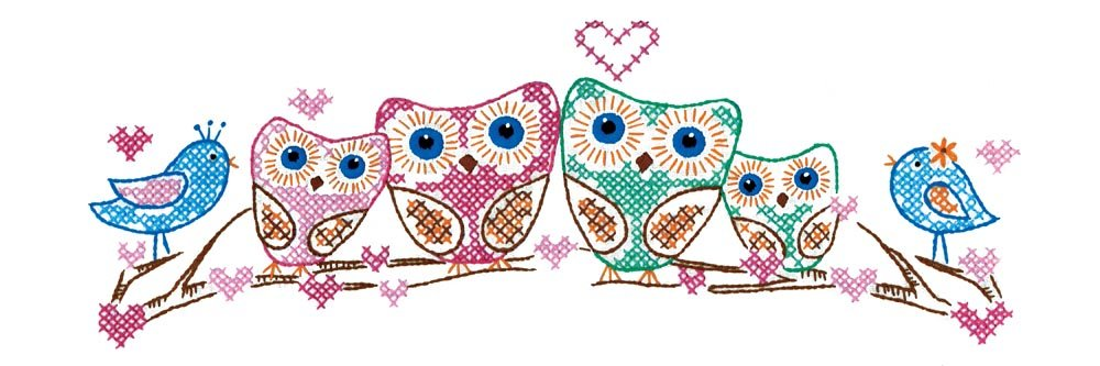 Design Works Crafts T232141 Owls, 20