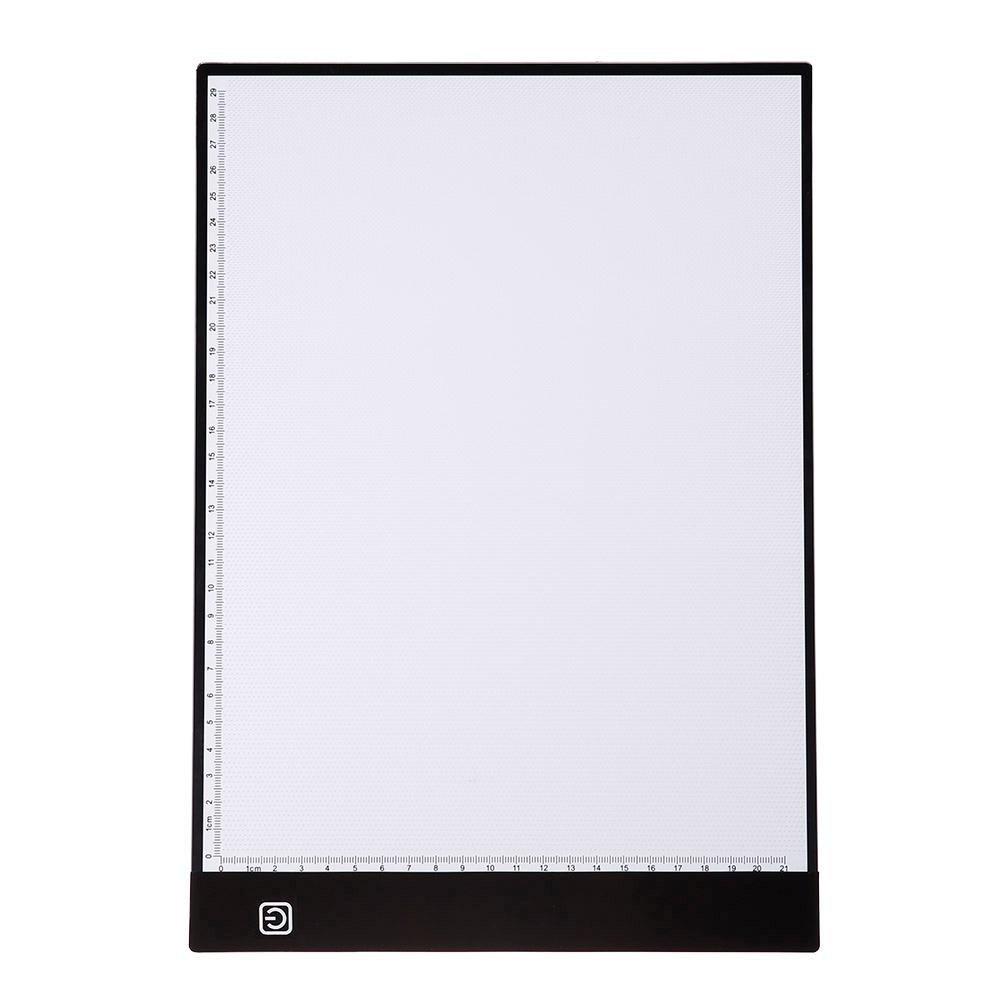 Childplaymate Portable LED Artcraft Tracing Light Pad Draw Copy Board Pad Table Write Light Artcraft Digital Tablets(DC)