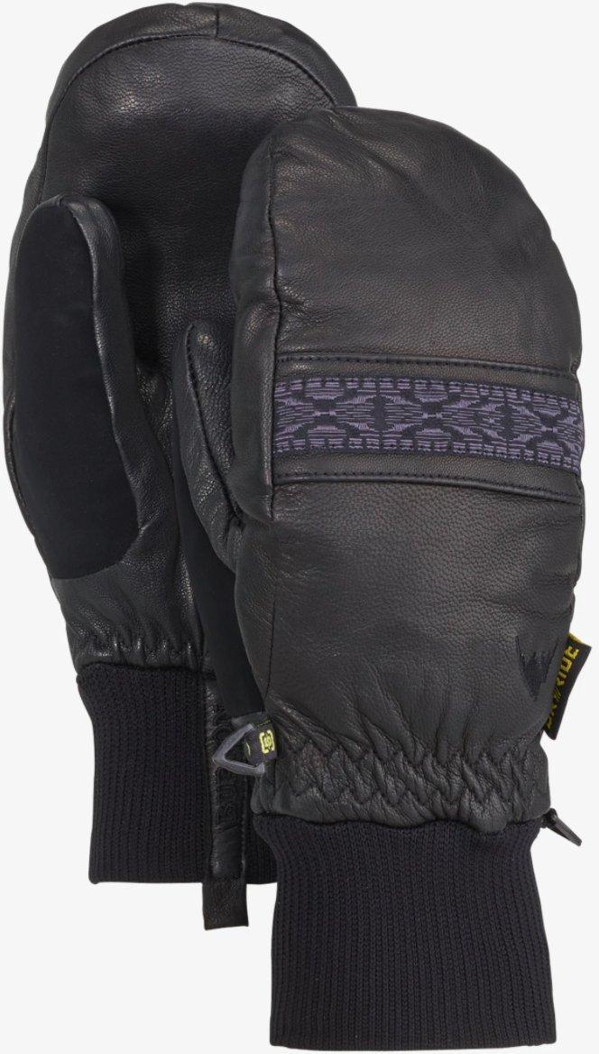 Burton Women's Free Range Mitt Gloves, True Black, Medium
